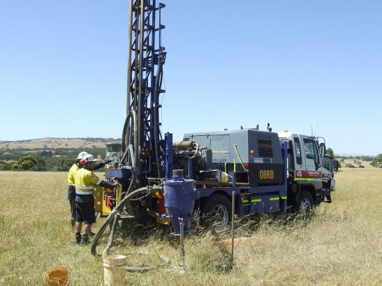 Geological Drill Rig - First Image for Page